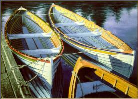 Голландский Мостерт. Лодки