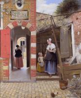 Courtyard in Delft