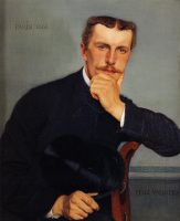 Felix Vallotton. Portrait of the artist's brother