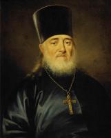 Дмитрий Григорьевич Левицкий. Портрет священника Петра Левицкого