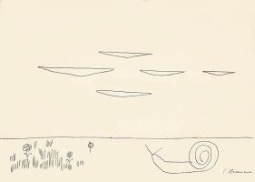 """Константин Бранкузи. Иллюстрация к """"Растения и животные"""""""