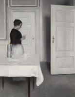 Вильгельм Хаммерсхёй. Ида читает письмо