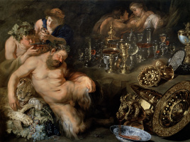 Peter Paul Rubens. Orgy: sleep Silena