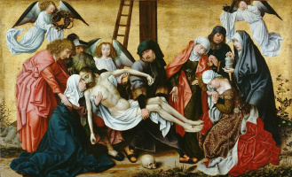 Rogier van der Weyden. The descent from the cross
