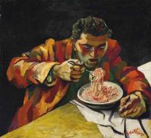 Ренато Гуттузо. Спагетти