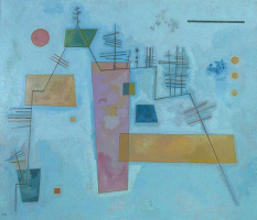 Wassily Kandinsky. Angular Structure