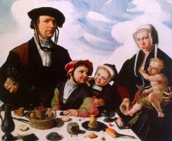 Мартен ван Хемскерк. Семейный портрет
