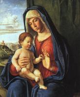 Чима да Конельяно. Мадонна и младенец