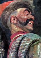 Илья Ефимович Репин. Запорожцы пишут письмо турецкому султану. Фрагмент