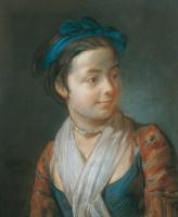 Жан Батист Симеон Шарден. Портрет молодой девушки