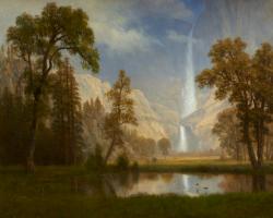 Альберт Бирштадт. Водопад Йосемити