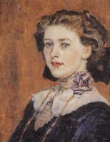 Василий Иванович Суриков. Портрет молодой женщины