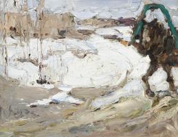 Валентин Александрович Серов. Рабочая лошадка