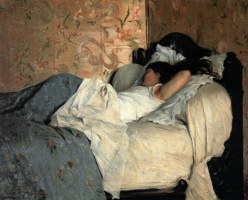 Federico Zandomenegi. In bed