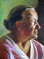 Алексей РуСАК. Женский портрет (фрагмент)