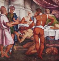 Якопо да Понте Бассано. Усекновение главы Иоанна Крестителя