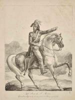 Теодор Жерико. Дон Хосе де Сан Мартин. Генерал-майор союзных армий Буэнос-Айреса и Чили