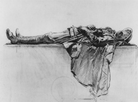 Джордж Ламберт. Лежащий солдат