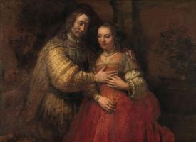 Рембрандт Харменс ван Рейн. Портрет Исаака и Ребекки, или Еврейская невеста