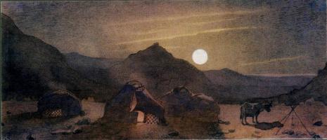 Тарас Григорьевич Шевченко. Лунная ночь среди гор