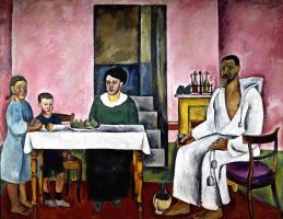 Петр Петрович Кончаловский. Семейный портрет (сиенский)
