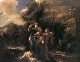 Доменико Фетти. Бегство в Египет