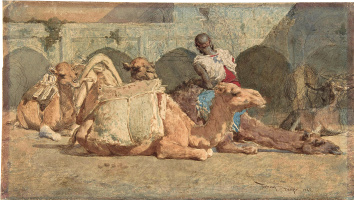 Mariano Fortuni-i-Carbo. Camel