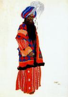 Лев Самойлович Бакст (Леон Бакст). Султан Самарканде