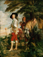Portrait of Charles I on the Hunt