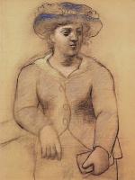 Пабло Пикассо. Женщина в шляпе