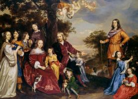 Ян Миджтенс. Господин и его семья