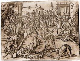 Франс Флорис ван Вриндт. Смерть Ханны и семи её сыновей