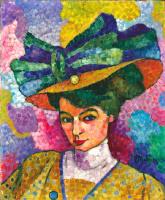 Жан Метценже. Женщина в шляпе