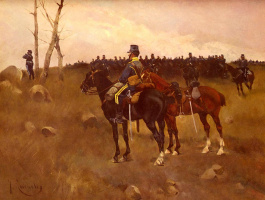 Хосе Кусачс. Солдат на коне