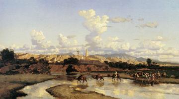 Жорж Марилхат. Пейзаж