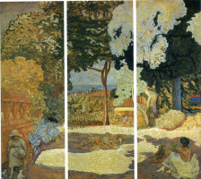 Пьер Боннар. Деревья