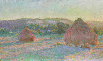Claude Monet. Wheat Stacks (End of Summer)