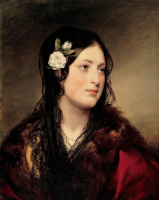 Фридрих фон Амерлинг. Портрет Элизы Крюцбергер.  1837