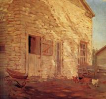Грант Вуд. Старый каменный сарай