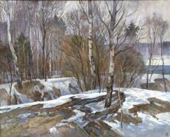 Oleg Borisovich Zakharov. Studies of spring.