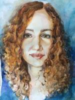 Natalia Lutsenko. Portrait of a girl