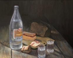Nikita Chugunov. Still Life A-1 (vodka)