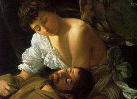 Michelangelo Merisi de Caravaggio. Stigmatization Of St. Francis. Fragment