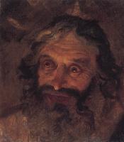 Николай Николаевич Ге. Голова еврея