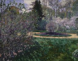 Sergey Arsenievich Vinogradov. Garden. Spring