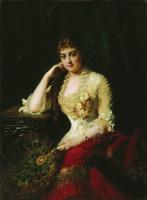 Константин Егорович Маковский. Женский портрет