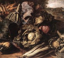 Франс Снейдерс. Овощной натюрморт