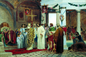 Fedor Andreevich Bronnikov. The baptism of Prince Vladimir