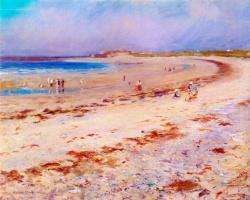 Элсон Кларк. На пляже