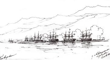 Ivan Aivazovsky. The Abkhaz coast